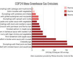 Klimagipfel: Sie essen Fleisch!